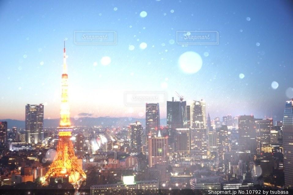 東京タワーの写真・画像素材[10792]