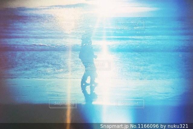 水の中の人の写真・画像素材[1166096]