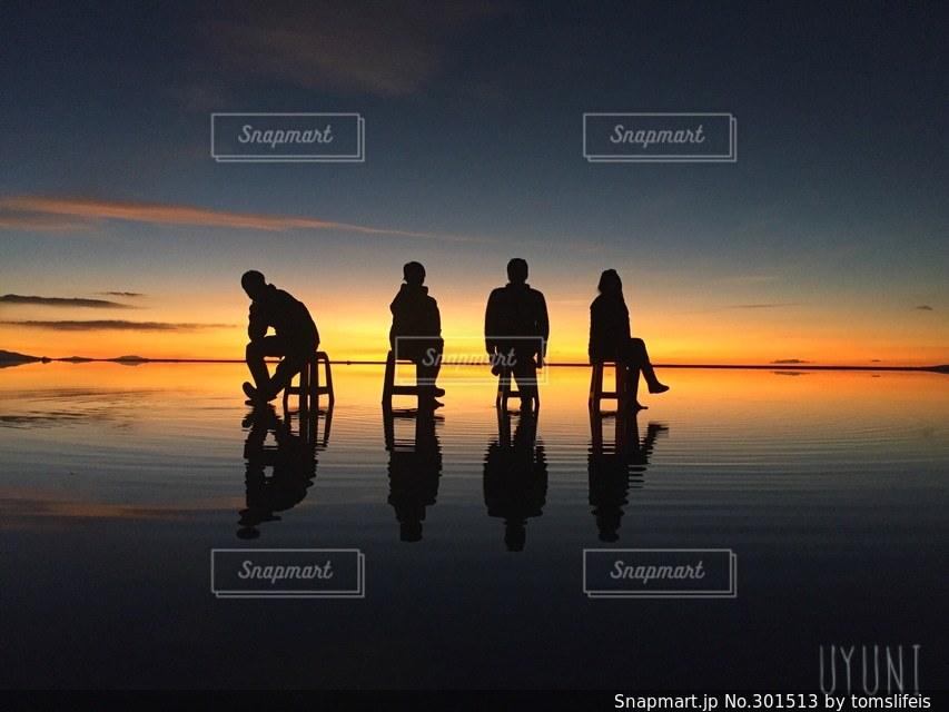 夕日の写真・画像素材[301513]