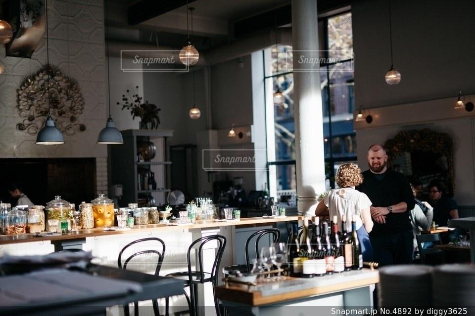 カフェの写真・画像素材[4892]
