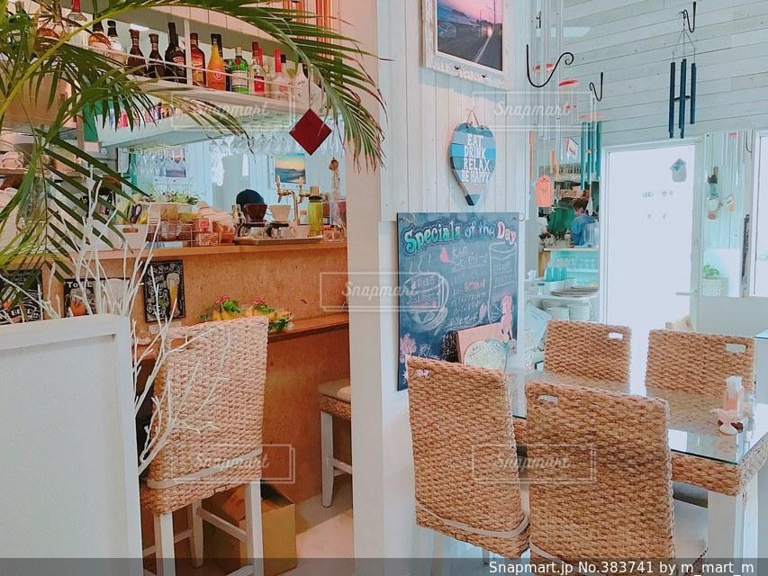 カフェの写真・画像素材[383741]