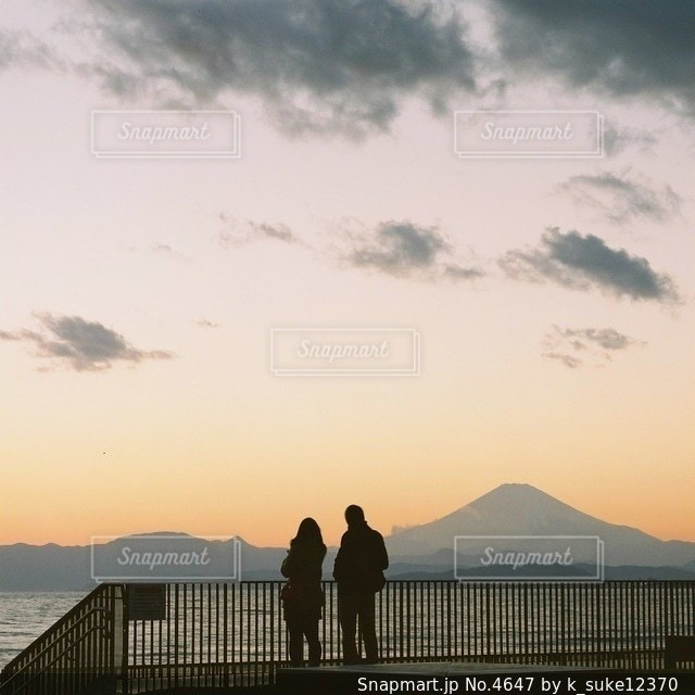 恋人の写真・画像素材[4647]