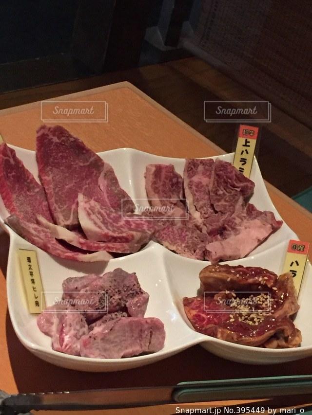 肉,焼肉,牛肉,盛り合わせ,赤身,生肉