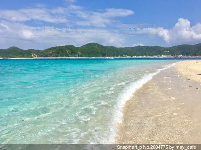 沖縄、安慶名敷島の写真・画像素材[2804775]