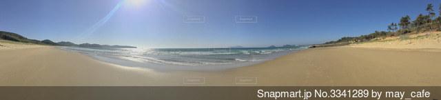海のパノラマ写真の写真・画像素材[3341289]