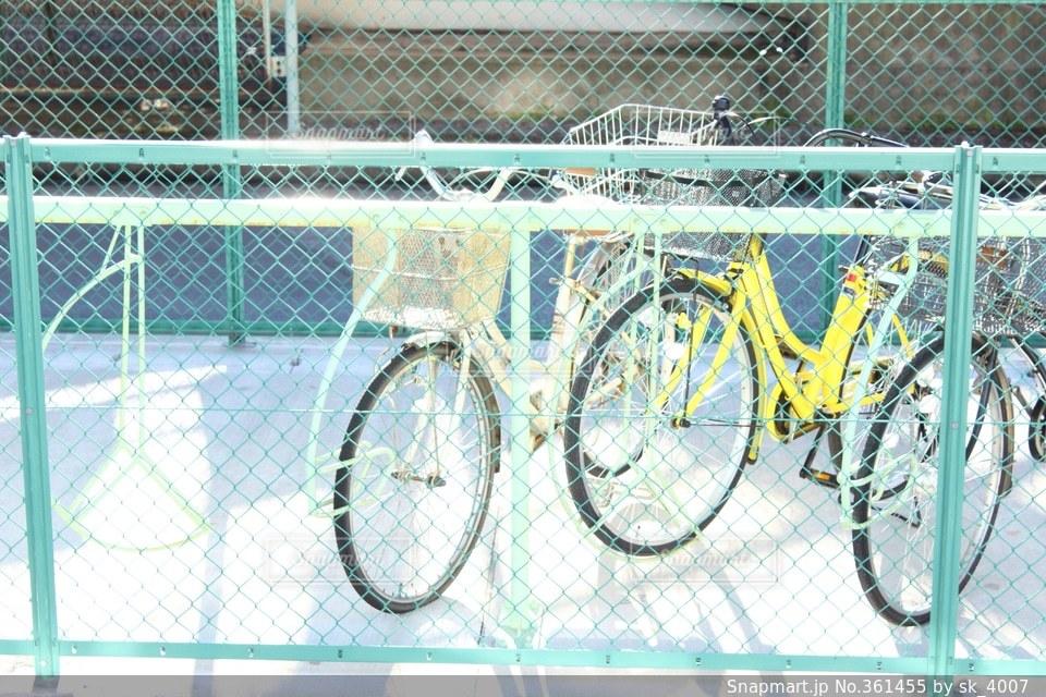 自転車の写真・画像素材[361455]