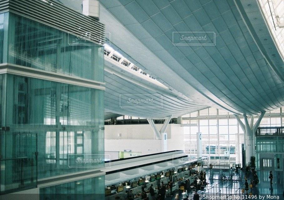 空港の写真・画像素材[11496]