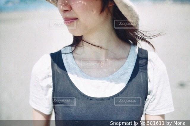 初夏のシーブリーズの写真・画像素材[581611]