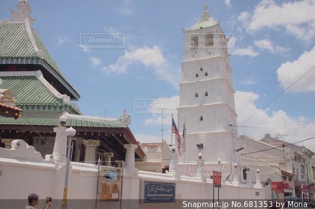 マレーシア・マラッカの街の写真・画像素材[681353]