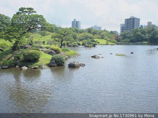 熊本・水前寺公園の写真・画像素材[1730961]