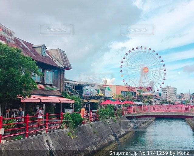 沖縄・美浜アメリカンビレッジの写真・画像素材[1741259]