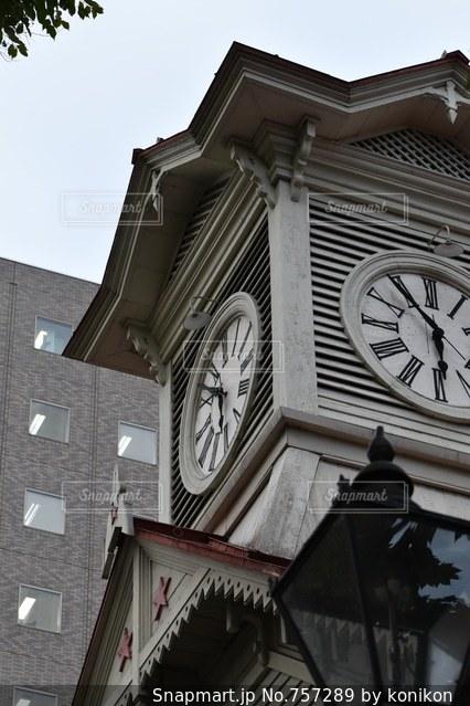 札幌時計台の写真・画像素材[757289]