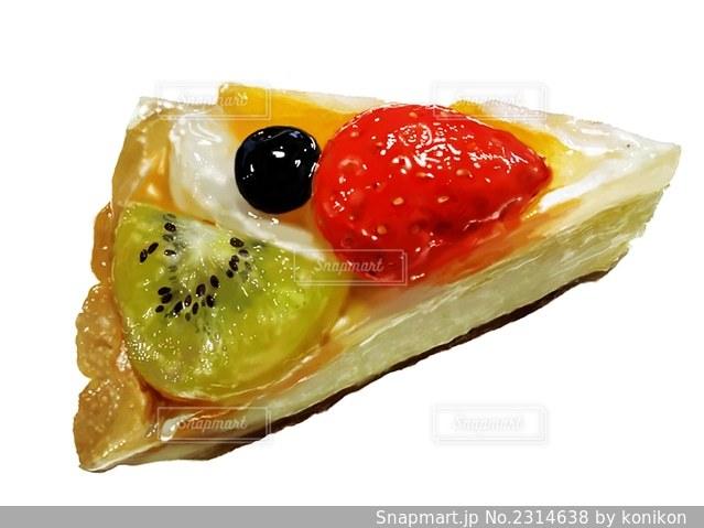 買ってきたフルーツタルトをイラストにした の写真 画像素材 Snapmart スナップマート