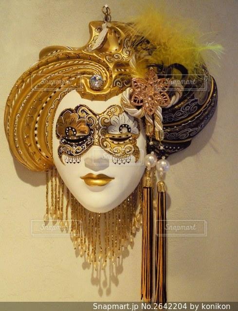 美しい仮面の写真・画像素材[2642204]