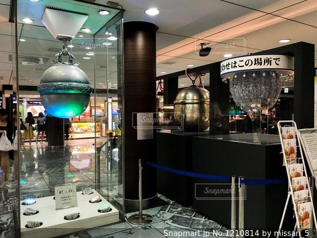 東京駅の銀の鈴が2018年で50周年の写真・画像素材[1210814]