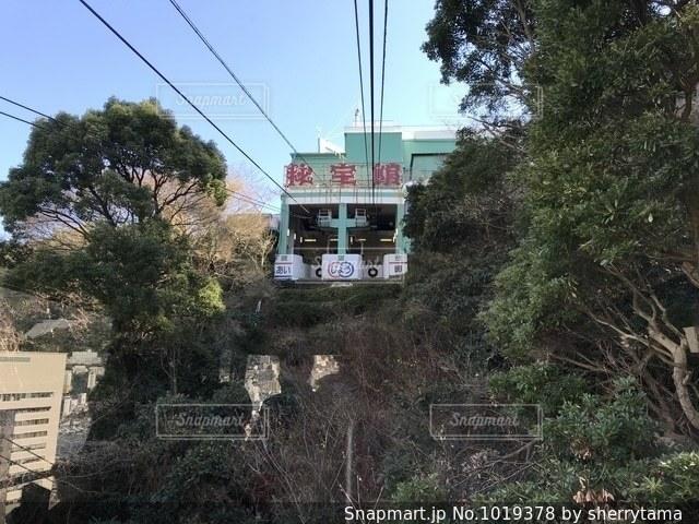 熱海秘宝館に向かうロープウェイからの写真・画像素材[1019378]