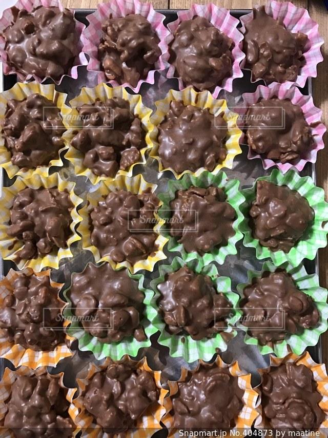 食べ物,お菓子,チョコレート,バレンタイン,美味しい,整列
