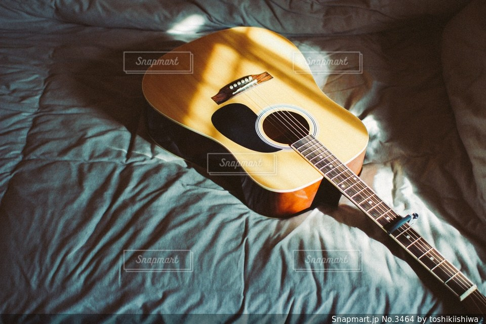 ギターの写真・画像素材[3464]
