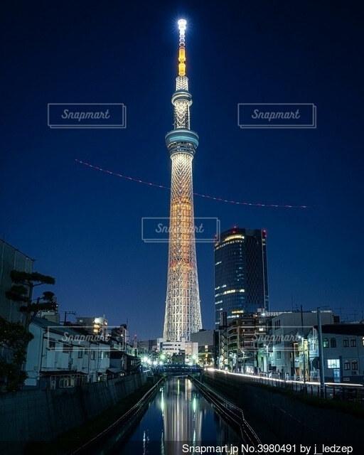 東京スカイツリーの写真・画像素材[3980491]