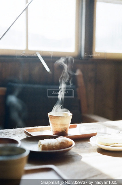 カフェ時間の写真・画像素材[3329737]
