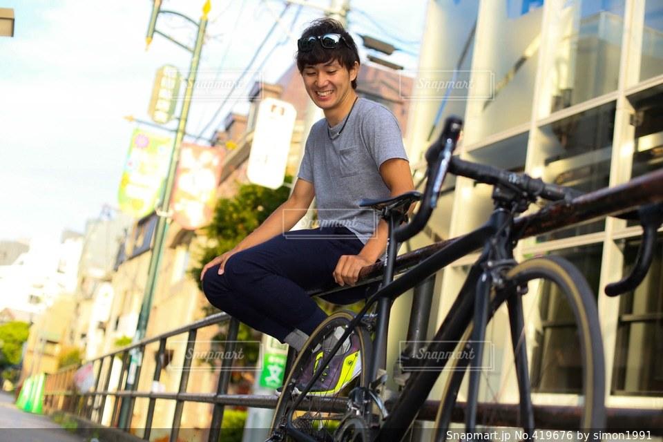 自転車の写真・画像素材[419676]