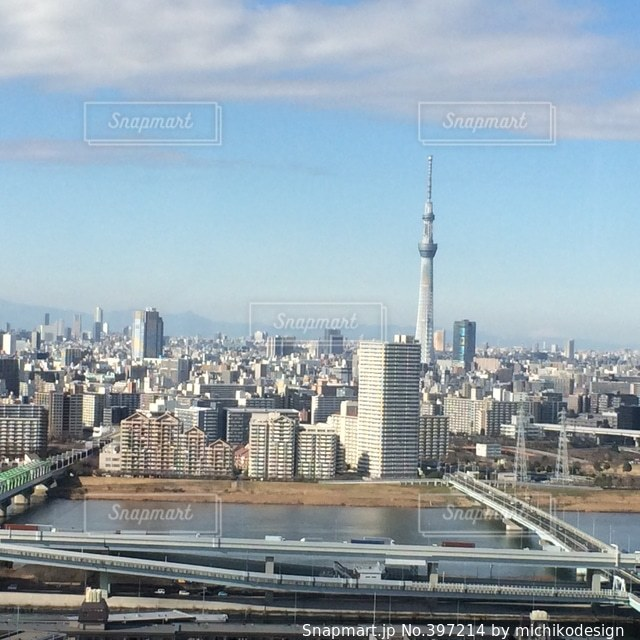 風景,空,建物,雲,スカイツリー,景色,高速道路,電波塔,東京都