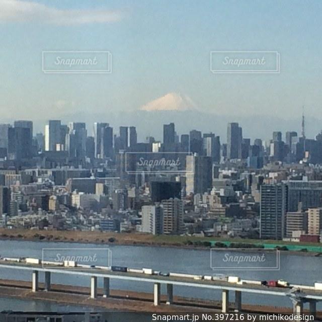 風景,空,富士山,雲,山,景色,高速道路,東京都,町