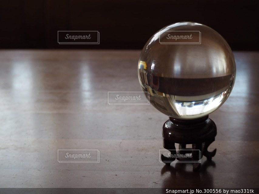 水晶  クリスタル  占い   パワーストーン  珠の写真・画像素材[300556]