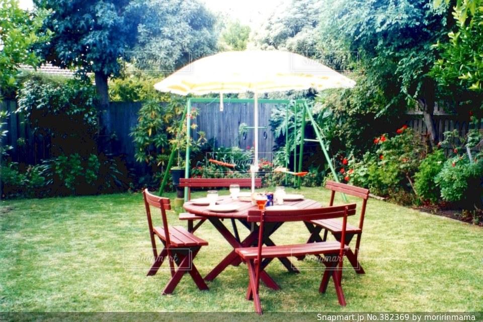 庭の写真・画像素材[382369]