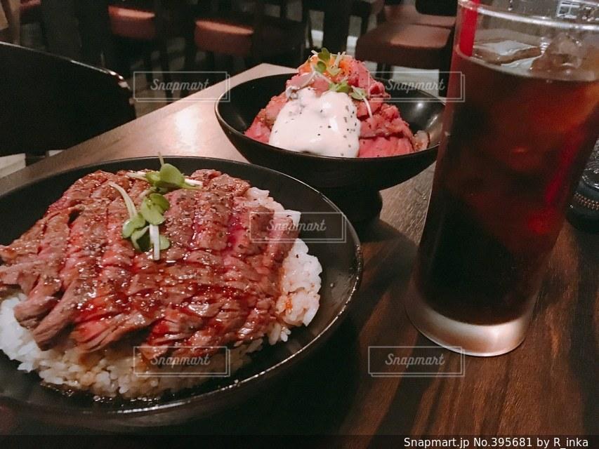 肉,コーラ,焼肉,丼,レッドロック,ローストビーフ,どんぶり,お腹すいた,デブ活,太る,でぶ
