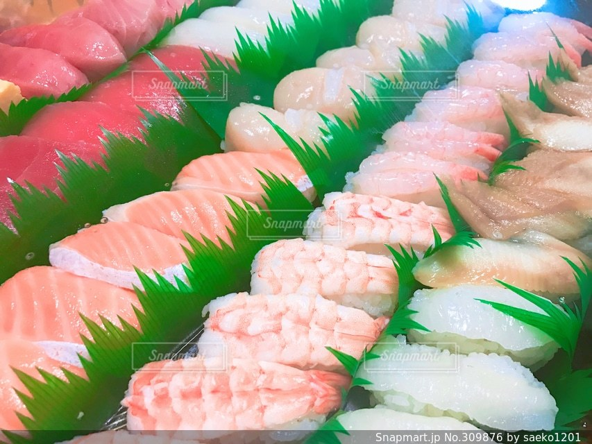 お寿司の写真・画像素材[309876]