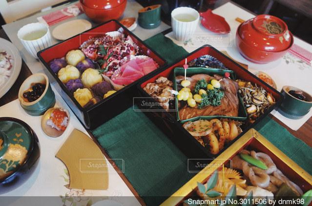 おせち料理の写真・画像素材[3011506]