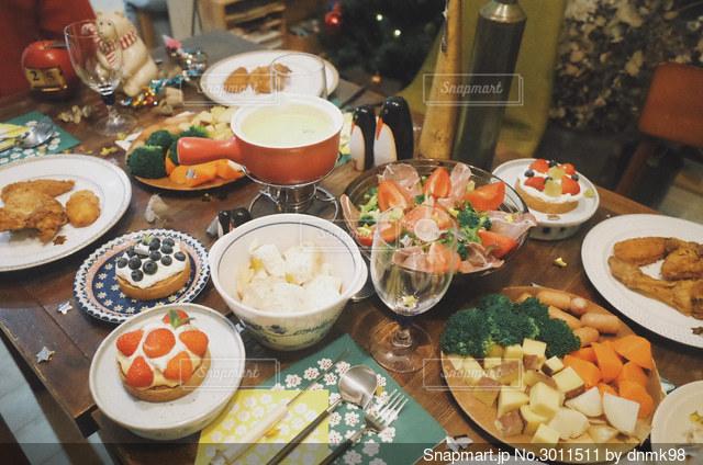 ホームパーティー!の写真・画像素材[3011511]
