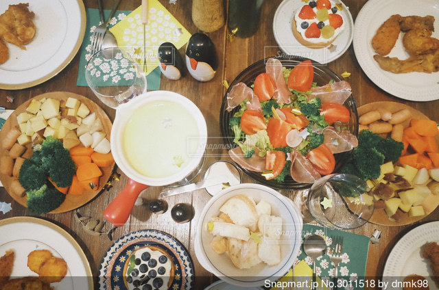 ホームパーティー!の写真・画像素材[3011518]