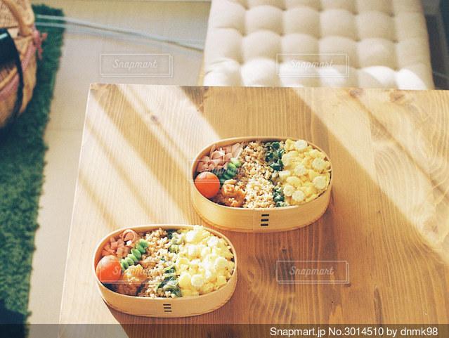 私たちのお弁当の写真・画像素材[3014510]