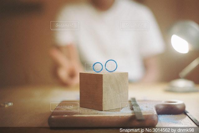 結婚指輪づくりの写真・画像素材[3014562]