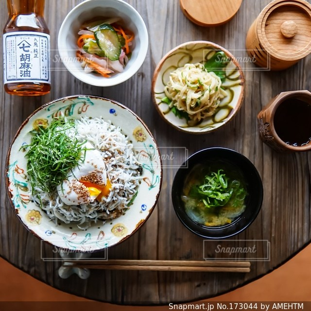 食事の写真・画像素材[173044]