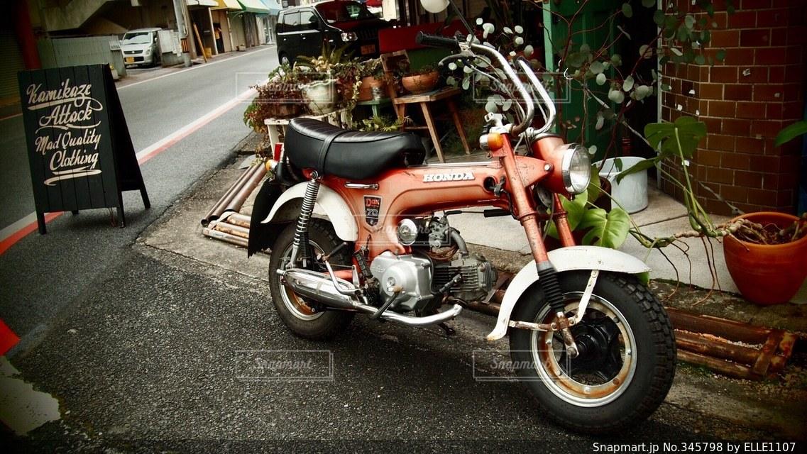 バイクの写真・画像素材[345798]