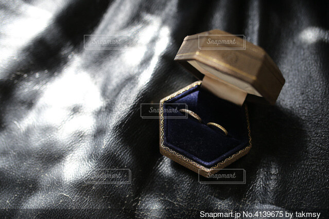 指輪の写真・画像素材[4139675]