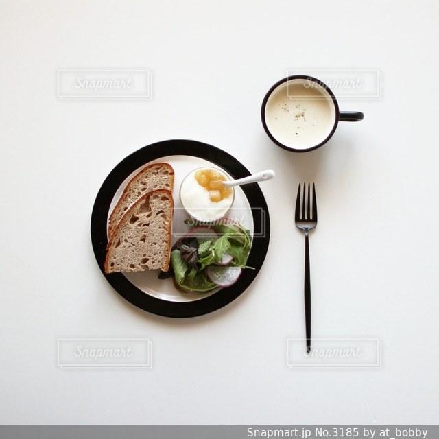 朝食の写真・画像素材[3185]