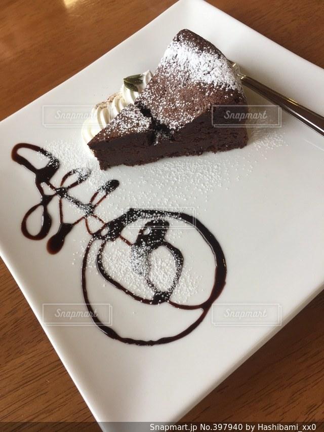 ケーキ,お菓子,チョコレート,美味しい,ガトーショコラ,チョコ