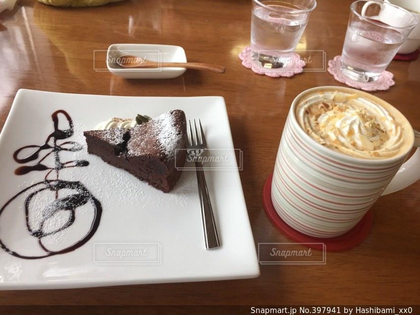 食べ物,飲み物,ケーキ,お菓子,チョコレート,美味しい,ガトーショコラ,チョコ