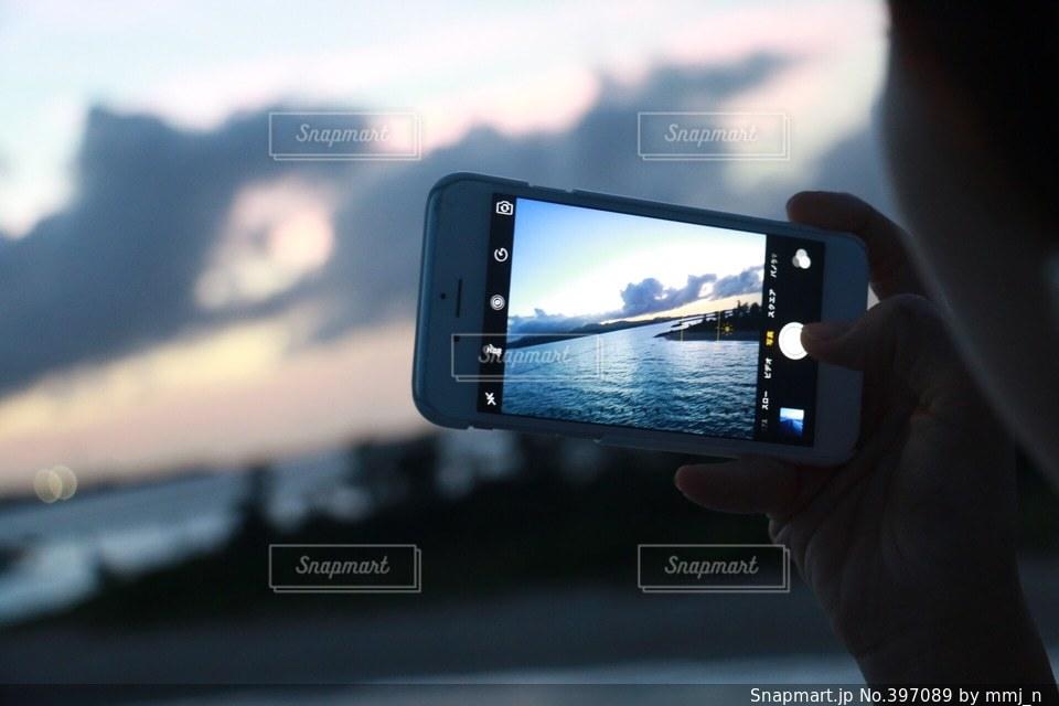 風景,海,カメラ,カメラ女子,青,沖縄,スマホ,旅行,写真,スマートフォン,iphone,camera,photo