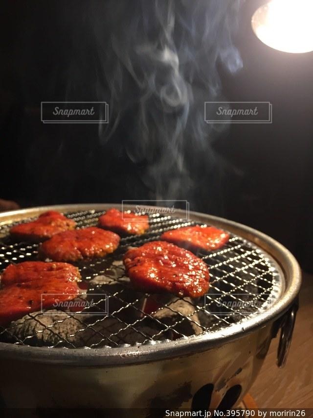 食事,ディナー,煙,焼肉