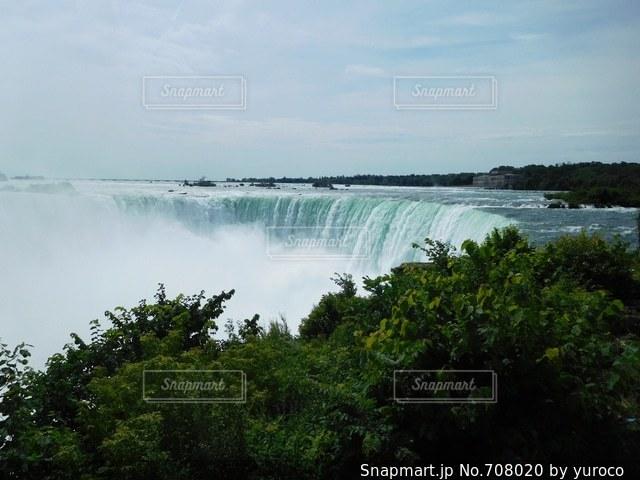 水の大きな体の写真・画像素材[708020]