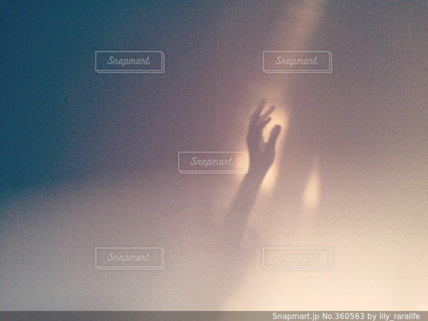 手の影の写真・画像素材[360563]