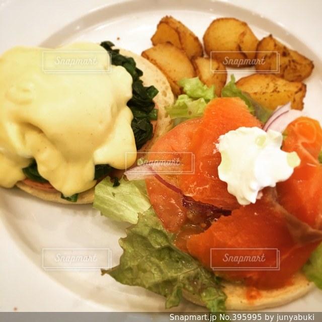 朝食,卵,料理,エッグベネディクト,エッグ