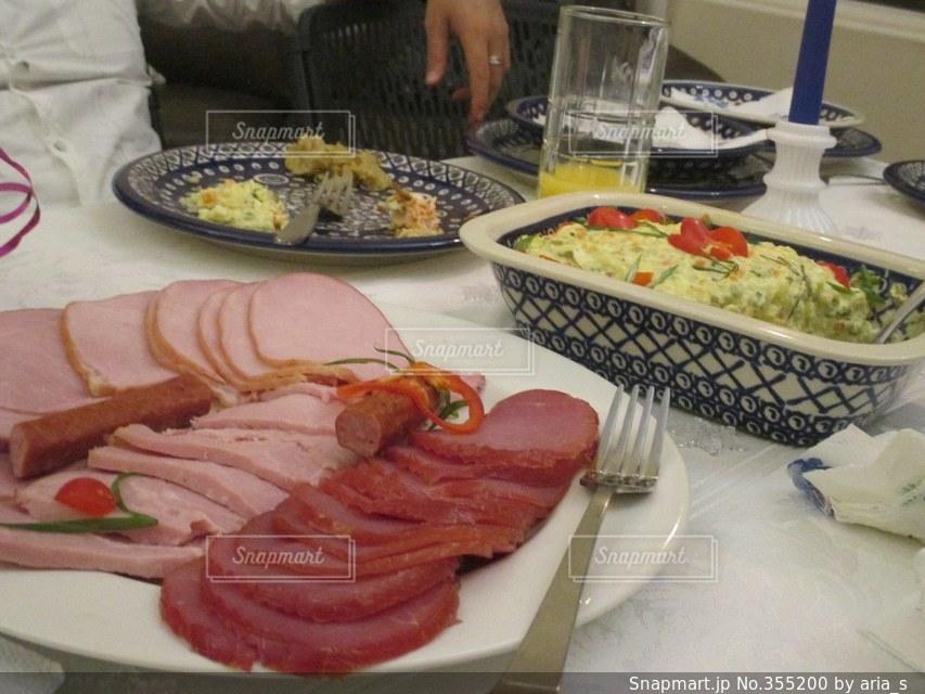 食べ物,パーティ,アメリカ,ハム,テーブルフォト