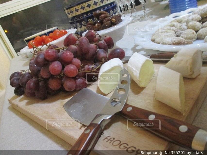 食べ物,パーティ,アメリカ,チーズ,テーブルフォト,ぶどう