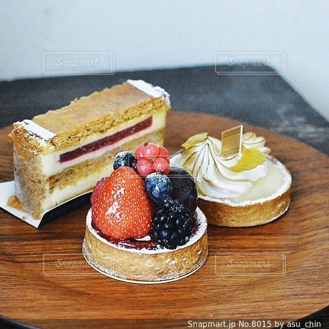 ケーキの写真・画像素材[8015]